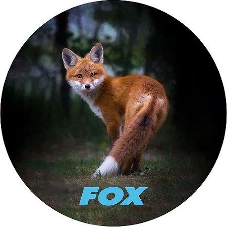 Capa para Estepe Pneu Personalizada Especial Crossfox + Cabo + Cadeado Fox 9
