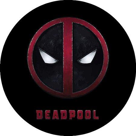 Capa para estepe Ecosport Crossfox + Cabo + Cadeado Deadpool