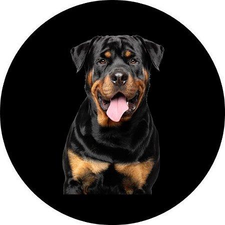 Capa para estepe Ecosport Crossfox + Cabo + Cadeado Rottweiler 1