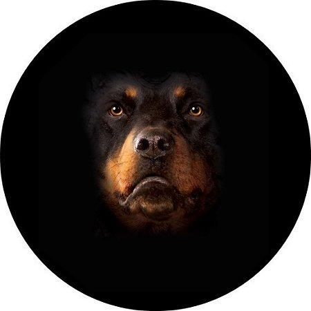 Capa para estepe Ecosport Crossfox + Cabo + Cadeado Rottweiler 3