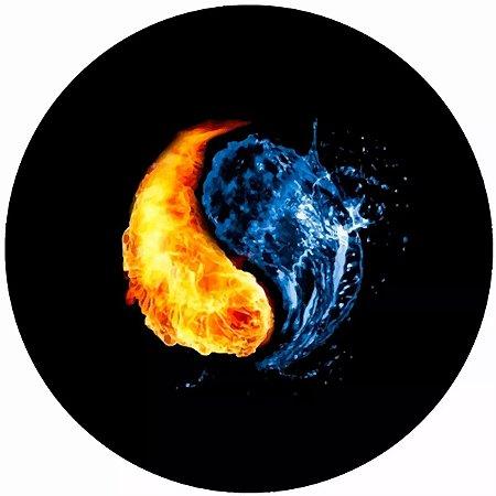 Capa Personalizada para Estepe Ecosport Crossfox Yin Yang