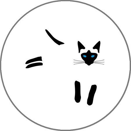 Capa Personalizada para Estepe Ecosport Crossfox Felino Gato Siamês