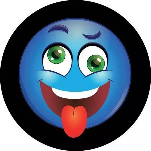 Capa Personalizada para Estepe Ecosport Crossfox Smile Careta Divertida