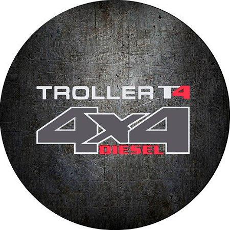 Capa Personalizada para Estepe Pneu Exclusiva Especial Troller 2