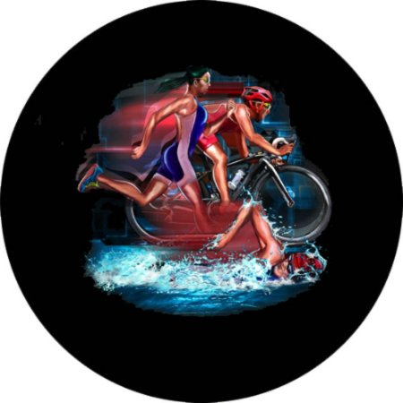 Capa para estepe Ecosport Crossfox + Cabo + Cadeado Triatlo