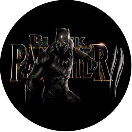 Capa para estepe Ecosport Crossfox + Cabo + Cadeado Pantera Negra Marvel