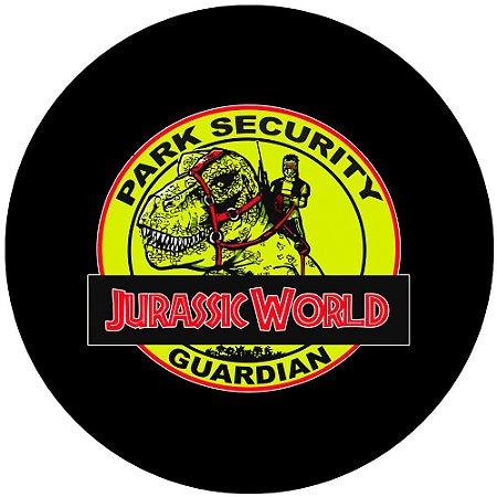 Capa para estepe Ecosport Crossfox + Cabo + Cadeado Jurassic World
