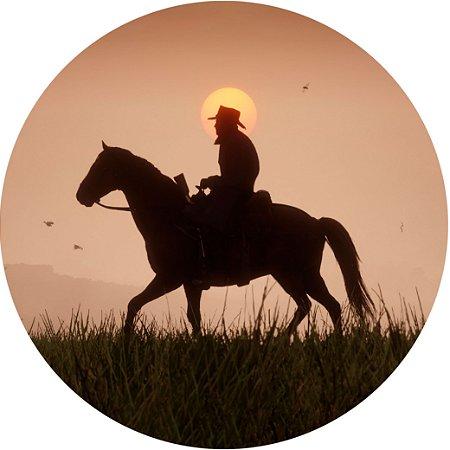 Capa para estepe Ecosport Crossfox + Cabo + Cadeado Cavalo