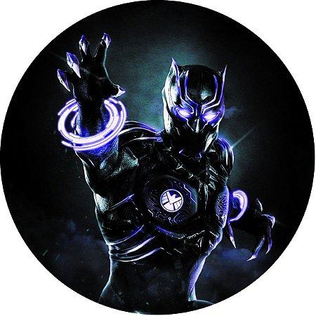 Capa Personalizada para Estepe Ecosport Crossfox Pantera Negra Marvel 6