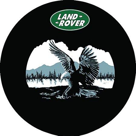 Capa Personalizada para Estepe Pneu Exclusiva Land Rover Defender Águia