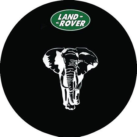 Capa para estepe Pneu Exclusiva Land Rover Defender Elefante
