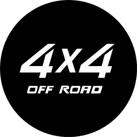 Capa para estepe Ecosport Crossfox + Cabo + Cadeado 4X4 Off Road