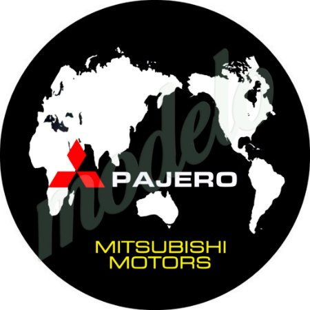 Capa Estepe Pneu Exclusiva Mitsubishi Pajero TR4 4WD