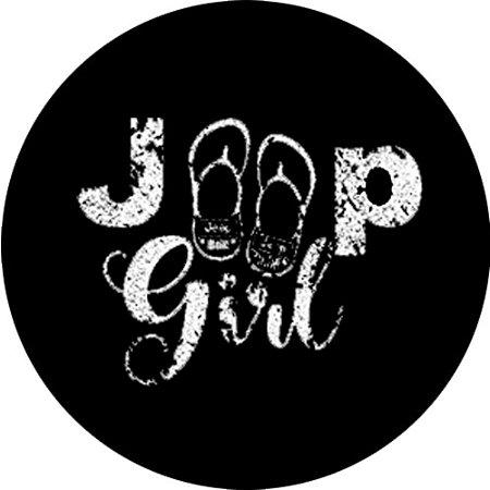 Capa Personalizada para Estepe Ecosport Crossfox Jeep Girl