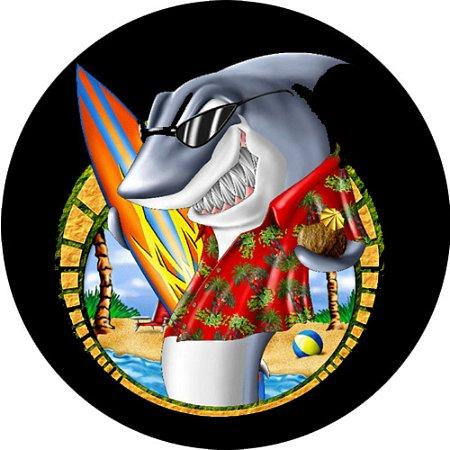 Capa Personalizada para Estepe Ecosport Crossfox Tubarão Surfista