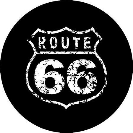 Capa Personalizada para estepe Ecosport Crossfox + Cabo + Cadeado Route 66