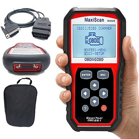 Scanner Automotivo MaxiScan MS509 Código Obd2 Eobd