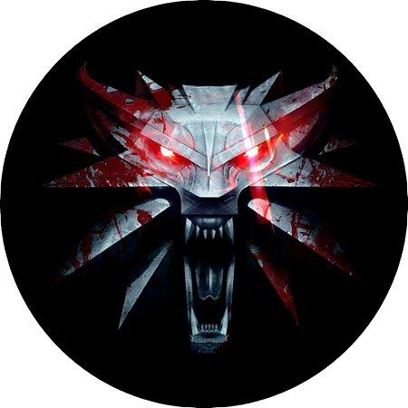 Capa Personalizada para estepe Ecosport Crossfox + Cabo + Cadeado The Witcher