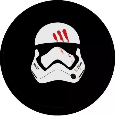 Capa para estepe Ecosport Crossfox + Cabo + Cadeado Stormtrooper 2