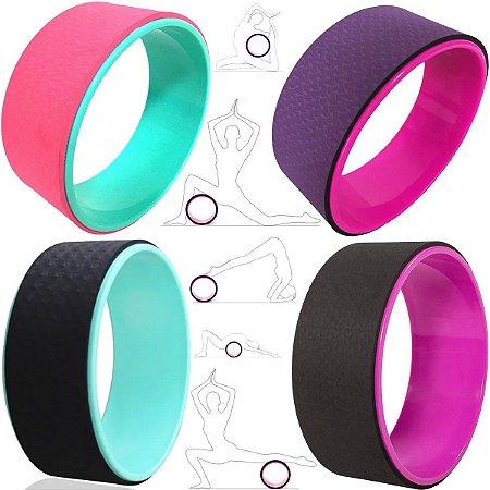 Roda Anel Yoga Magic Wheel Pilates Flow Circle