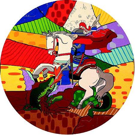 Capa Personalizada para Estepe Ecosport Crossfox Religioso São Jorge 5