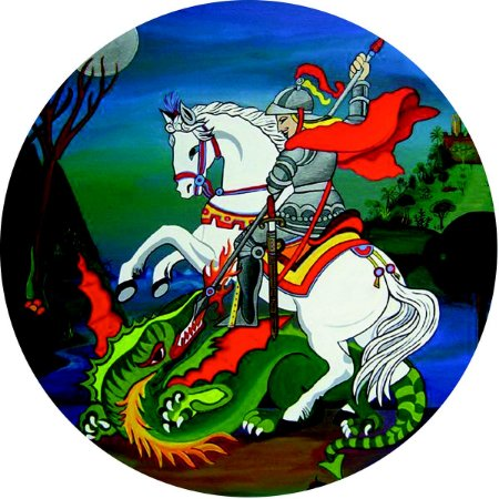 Capa Personalizada para Estepe Ecosport Crossfox Religioso São Jorge 8