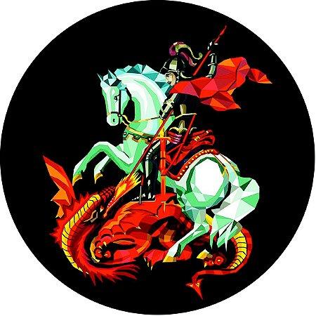 Capa Personalizada para Estepe Ecosport Crossfox Religioso São Jorge 9