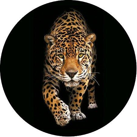 Capa Personalizada para Estepe Ecosport Crossfox Estampa Leopardo