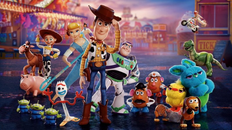 Painel de Festa Infantil Personalizado em Tecido Toy Story 9 PA87
