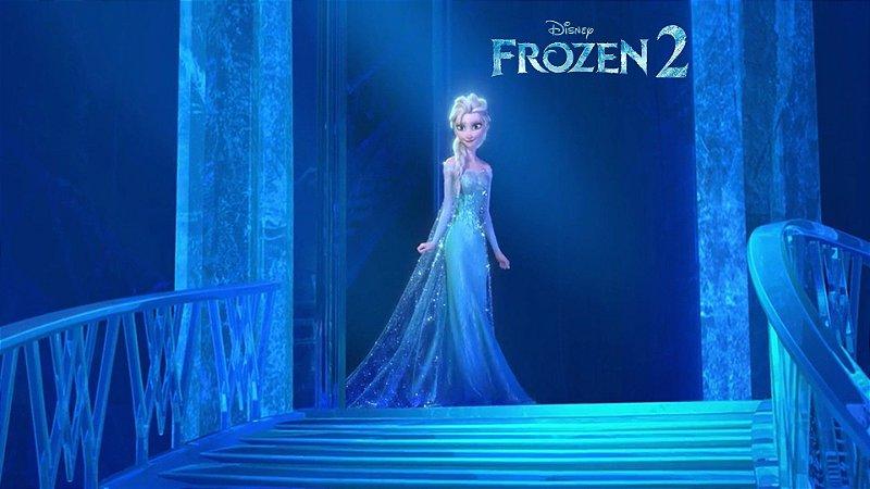 Painel de Festa Infantil Personalizado em Tecido Frozen 2 - 7 PA103