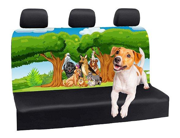 Capa Banco Automotivo Impermeável Personalização Exclusiva Cães 1