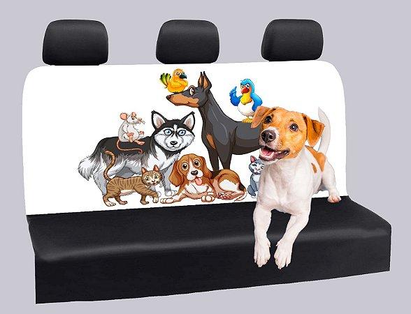 Capa Banco Automotivo Impermeável Personalização Exclusiva Cães 2