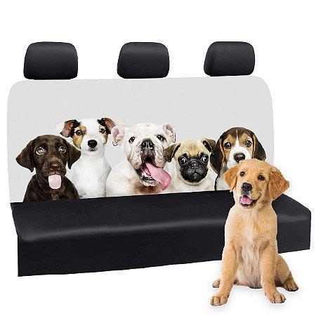 Capa Banco Automotivo Impermeável Personalização Exclusiva Cães 10