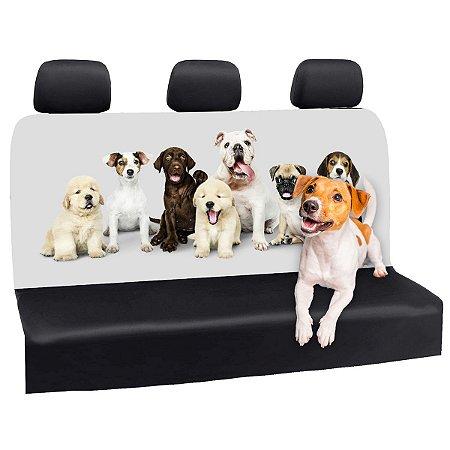 Capa Banco Automotivo Impermeável Personalização Exclusiva Cães 11