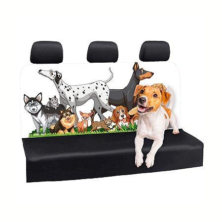 Capa Banco Automotivo Impermeável Personalização Exclusiva Animais 3