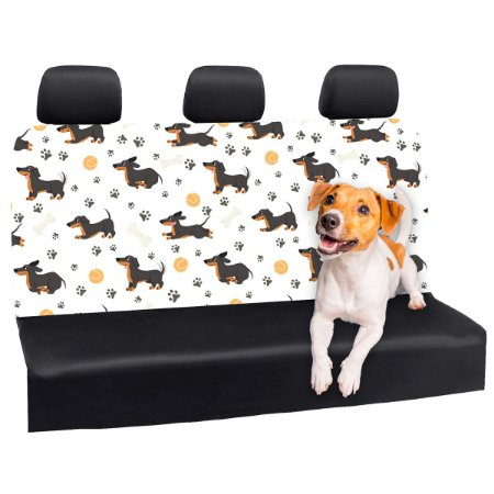Capa Banco Automotivo Impermeável Personalização Exclusiva Cães 14