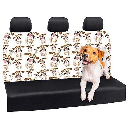 Capa Banco Automotivo Impermeável Personalização Exclusiva Cães 17