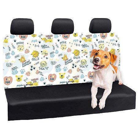 Capa Banco Automotivo Impermeável Personalização Exclusiva Cães 21