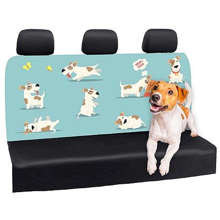Capa Banco Automotivo Impermeável Personalização Exclusiva Cães 22