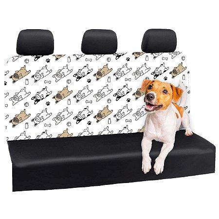 Capa Banco Automotivo Impermeável Personalização Exclusiva Cães 25