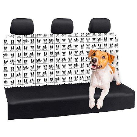 Capa Banco Automotivo Impermeável Personalização Exclusiva Cães 26