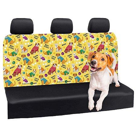Capa Banco Automotivo Impermeável Personalização Exclusiva Cães 27