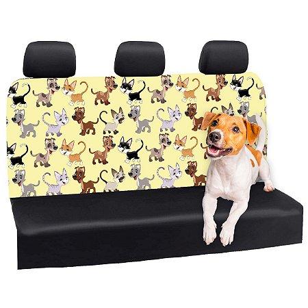 Capa Banco Automotivo Impermeável Personalização Exclusiva Pets 8
