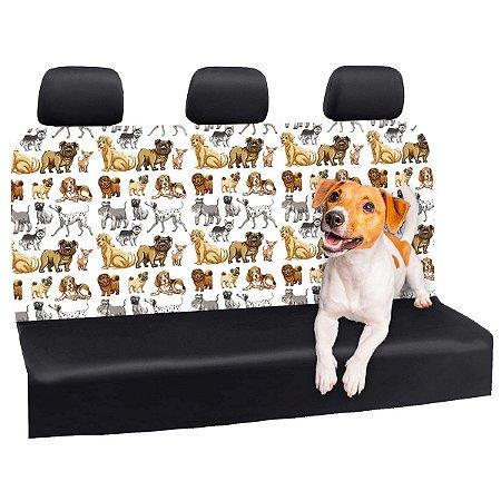 Capa Banco Automotivo Impermeável Personalização Exclusiva Cães 28