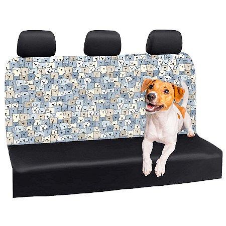 Capa Banco Automotivo Impermeável Personalização Exclusiva Cães 30