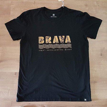Camiseta - Serie Local - Brava - Preta