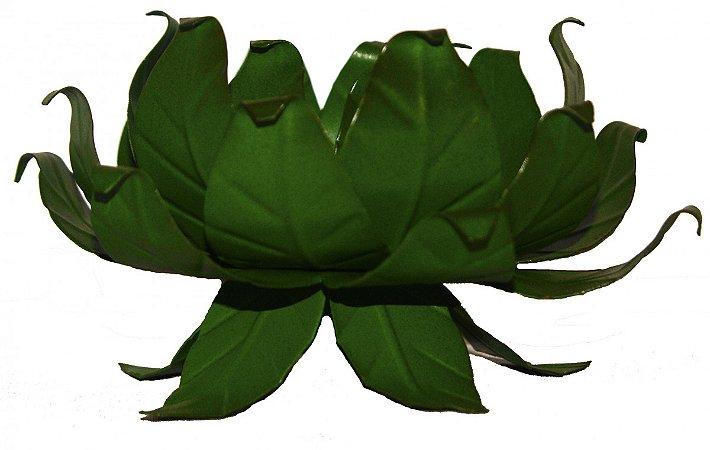 Castiçal de Mesa Folhas (14x14 cm)
