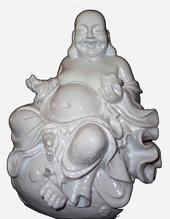 Buda Resinado Branco