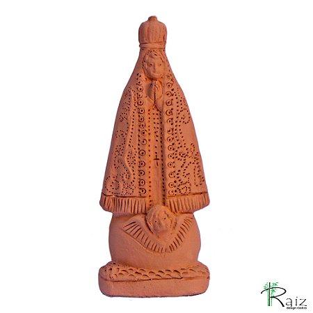 Escultura em Cerâmica Nossa Senhora Aparecida