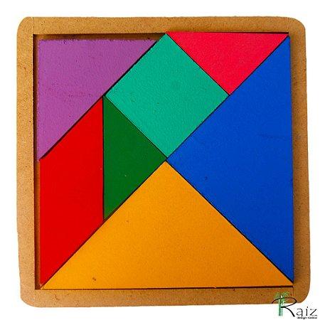 Brinquedo Educativo - Tangram